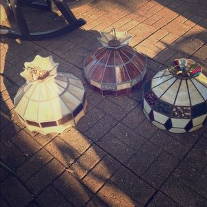 Antique retro hanging lights ! ! Collectables